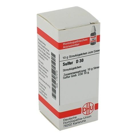 SULFUR D 30 Globuli 10 Gramm N1