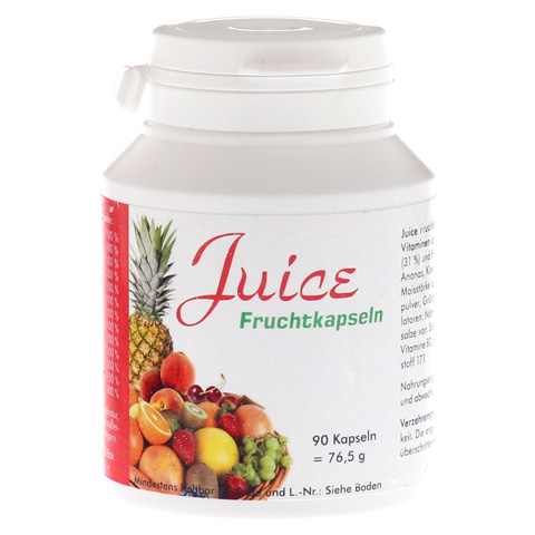 JUICE Fruchtkapseln 90 Stück