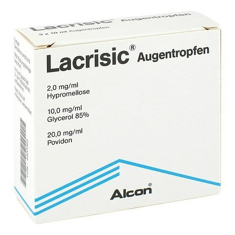 LACRISIC Augentropfen 3x10 Milliliter N3