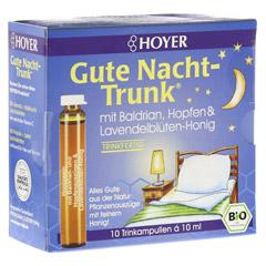 HOYER Gute Nacht Trunk Trinkampullen 10x10 Milliliter