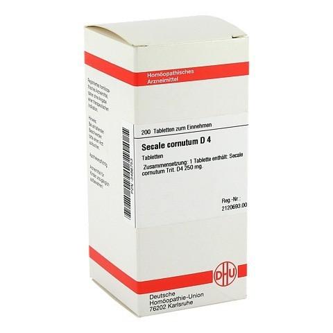 SECALE CORNUTUM D 4 Tabletten 200 Stück N2