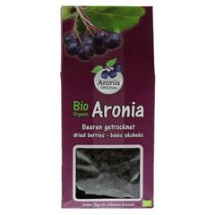 BIO ARONIABEEREN getrocknet 200 Gramm - Vorderseite