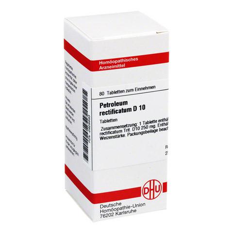 PETROLEUM RECTIFICATUM D 10 Tabletten 80 Stück N1