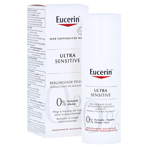 EUCERIN SEH UltraSensitive f.normale bis Mischhaut 50 Milliliter