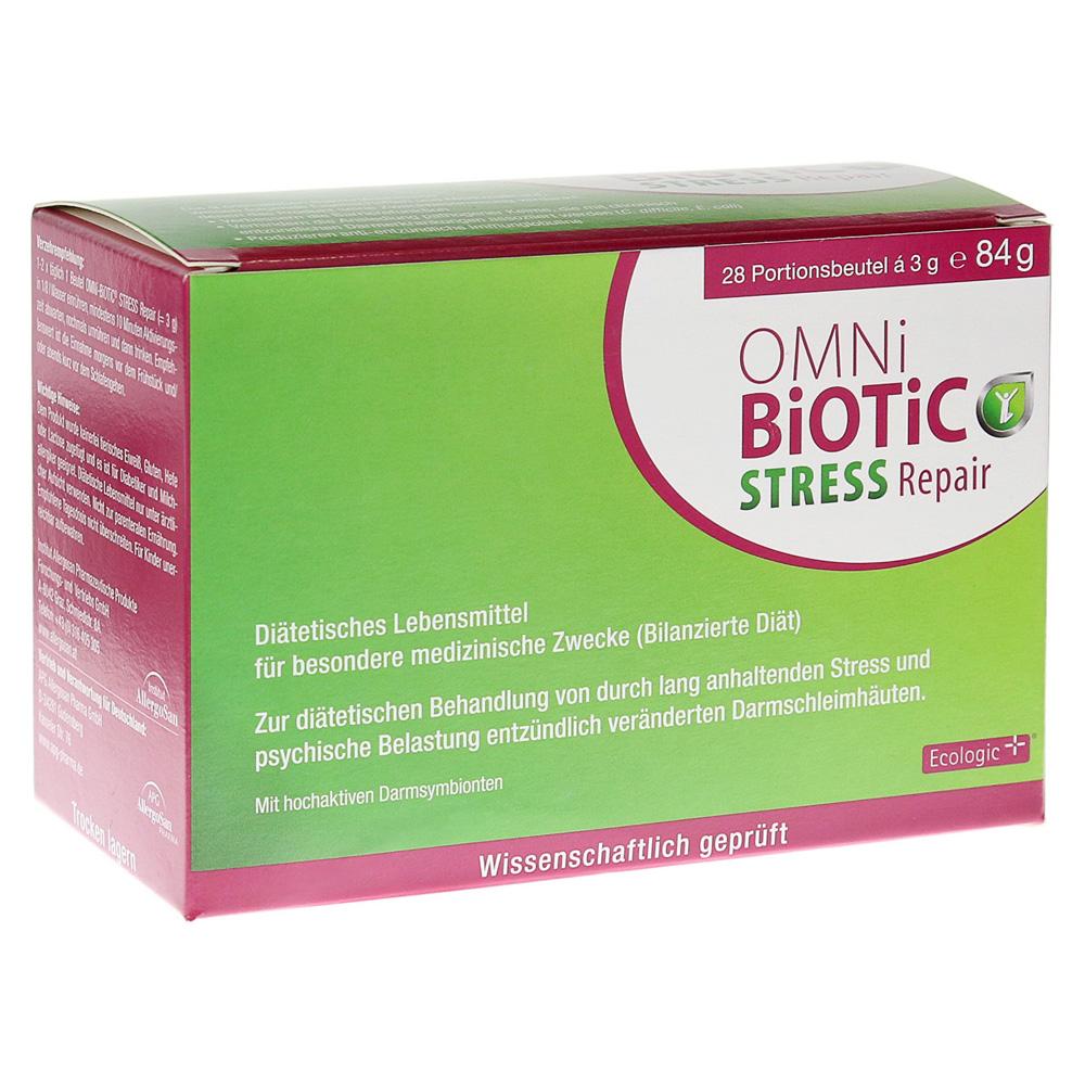 OMNi-BiOTiC® STRESS Repair se primenjuje jednom do dva puta dnevno - ujutru pre doručka i/ili uveče pre spavanja - pomešano u vodi, mleku, voćnom soku ili jogurtu. Nakon 10 minuta aktivacije 7,5 milijardi posebno odabranih korisnih crevnih bakterija je spemno da se nastani u Vašim crevima..