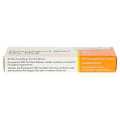 Paracetamol 500 Fair-Med 20 St�ck N2 - Unterseite