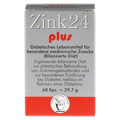 ZINK 24 plus Kapseln 60 Stück - Vorderseite