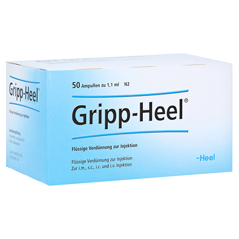 GRIPP-HEEL Ampullen 50 Stück N2