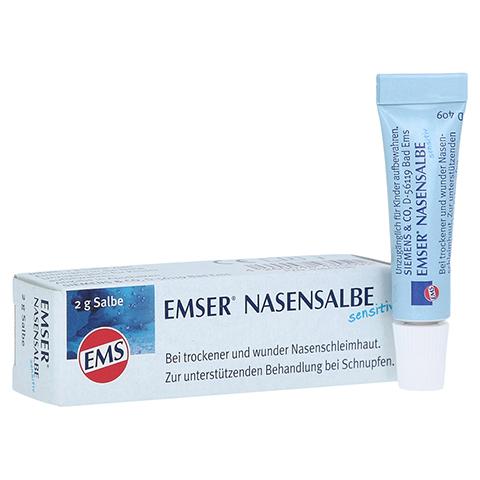 EMSER Nasensalbe Sensitiv 2 Gramm