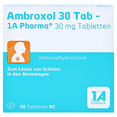 Ambroxol 30 Tab-1A Pharma 50 St�ck N2 - Vorderseite