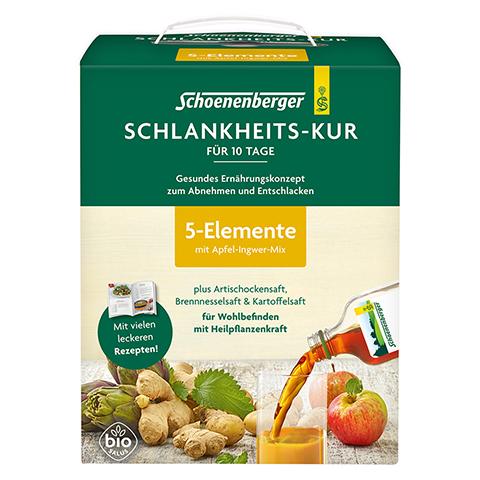 SCHLANKHEITSKUR 5 Elemente Schoenenberger 1 Stück
