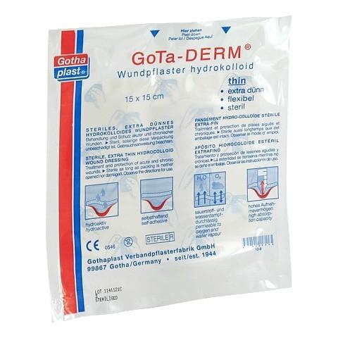 GOTHA DERM Hydrokoll.Pfl. 15cmx15cm 1 St�ck