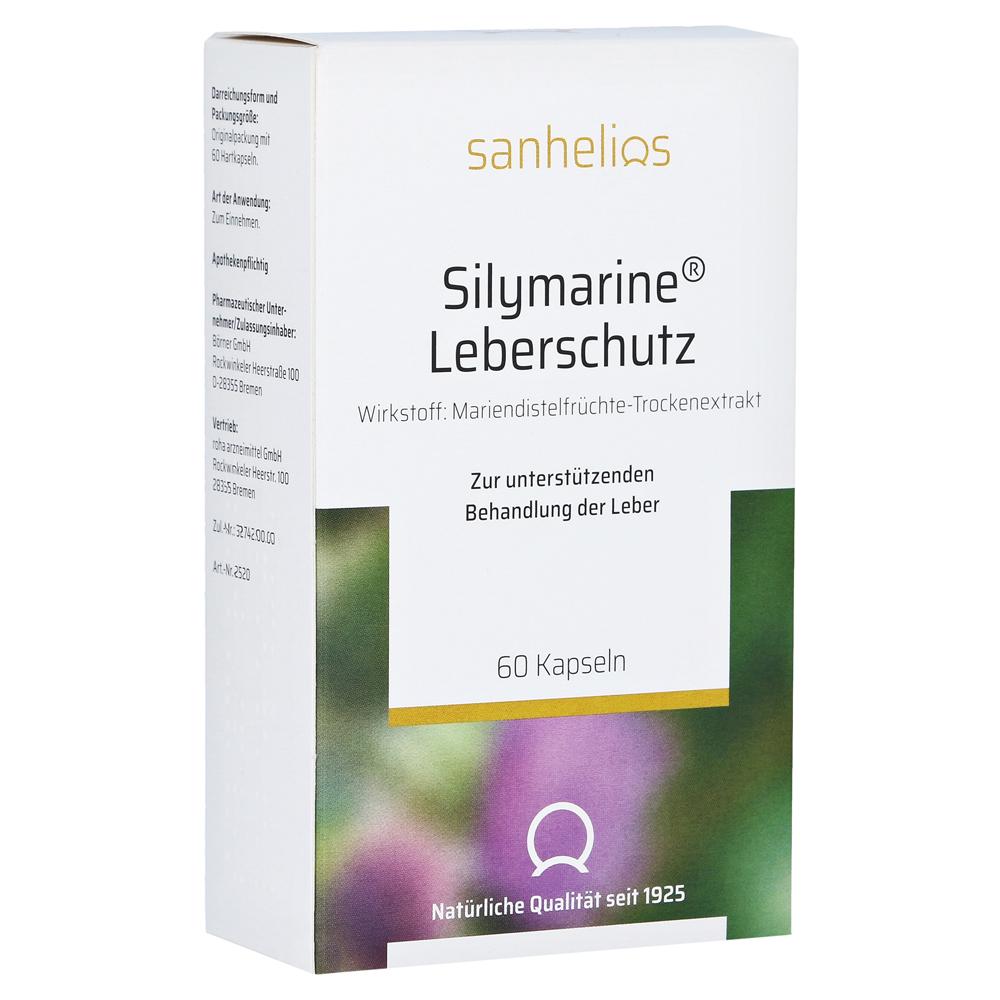 Silymarine Leberschutz-Kapseln Hartkapseln 60 Stück