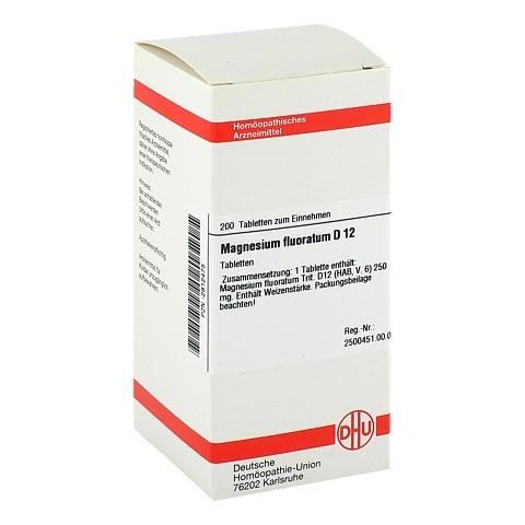 MAGNESIUM FLUORATUM D 12 Tabletten 200 Stück N2