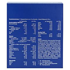 ORTHOMOL Immun Granulat Beutel 15 Stück - Rückseite
