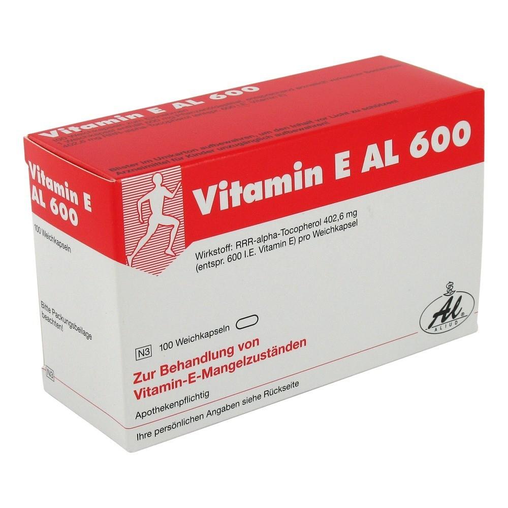 vitamin e al 600 kapseln medpex versandapotheke. Black Bedroom Furniture Sets. Home Design Ideas