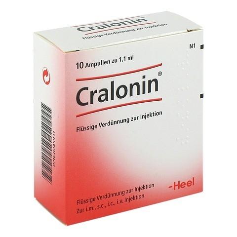 CRALONIN Ampullen 10 Stück N1