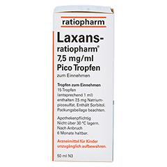 Laxans-ratiopharm 7,5mg/ml Pico 50 Milliliter N3 - Linke Seite