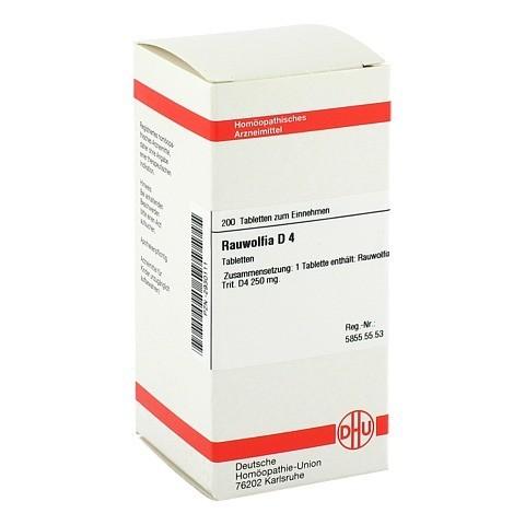 RAUWOLFIA D 4 Tabletten 200 Stück N2