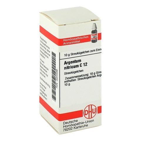 ARGENTUM NITRICUM C 12 Globuli 10 Gramm N1