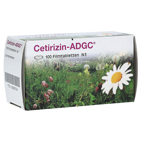 Cetirizin-ADGC 100 St�ck N3