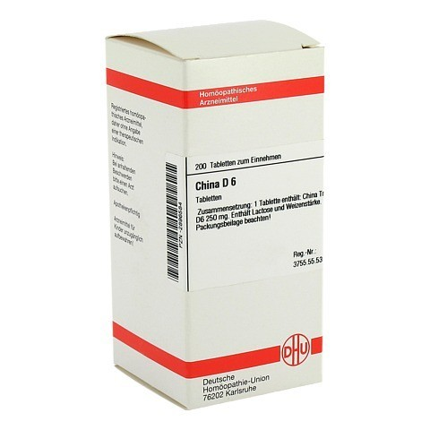 CHINA D 6 Tabletten 200 Stück N2