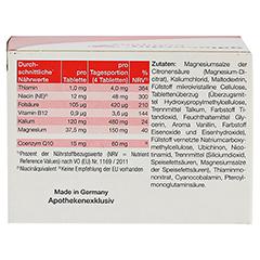 GALACORDIN complex Tabletten 60 St�ck - R�ckseite