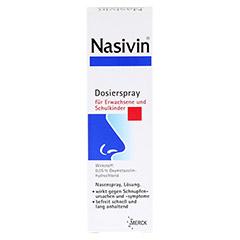 Nasivin Dosierspray für Erwachsene und Schulkinder 0,05% 10 Milliliter N1 - Vorderseite