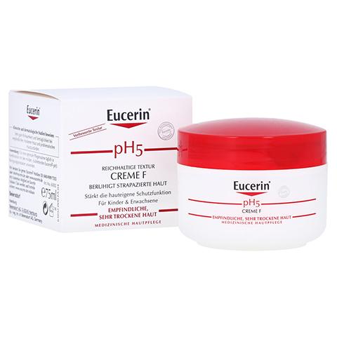 EUCERIN pH5 Creme F empfindliche Haut 75 Milliliter