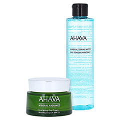 AHAVA Mineral Radiance Energizing Day Cream SPF 15 + gratis Ahava Mineral Toning Water 250 ml 50 Milliliter
