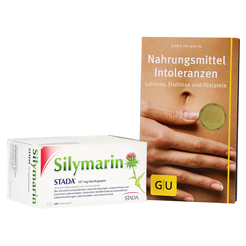 Silymarin STADA 117mg + gratis Nahrungsmittel Intoleranzen Broschüre GU 100 Stück N3