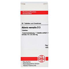 ADONIS VERNALIS D 3 Tabletten 80 Stück N1 - Vorderseite
