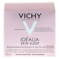 VICHY IDEALIA Skin Sleep Nachtcreme 50 Milliliter - Vorderseite