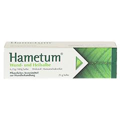 Hametum Wund- und Heilsalbe 25 Gramm N1 - Vorderseite