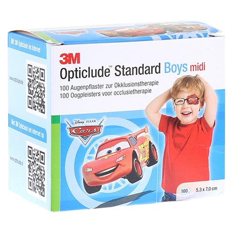 Opticlude 3M Standard Disney Pflaster Boys midi 100 Stück