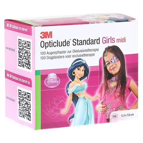 Opticlude 3M Standard Disney Pflaster Girls midi 100 Stück