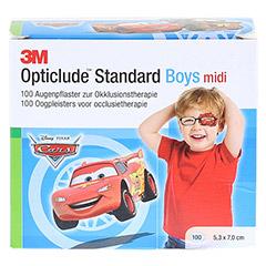 Opticlude 3M Standard Disney Pflaster Boys midi 100 Stück - Vorderseite
