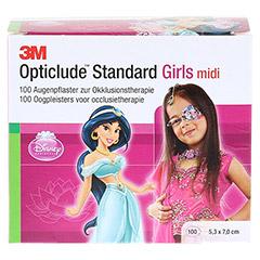 Opticlude 3M Standard Disney Pflaster Girls midi 100 Stück - Vorderseite