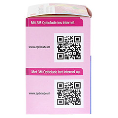 Opticlude 3M Comfort Disney Pflaster Girls maxi 100 Stück - Linke Seite