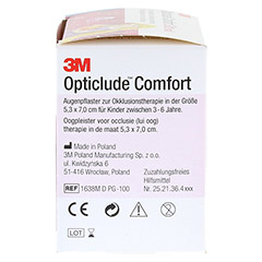Opticlude 3M Comfort Disney Pflaster Girls midi 100 Stück - Rechte Seite