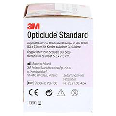 Opticlude 3M Standard Disney Pflaster Girls midi 100 Stück - Rechte Seite