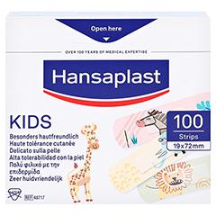 HANSAPLAST Kids Pflasterstrips Univeral 100 Stück - Rückseite