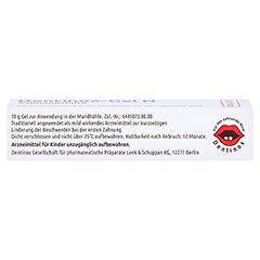 Dentinox N Zahnungshilfe 10 Gramm - Unterseite