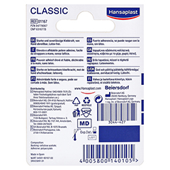 Hansaplast Fixierpflaster Classic 5mx1,2cm 1 Stück - Rückseite