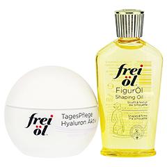 FREI ÖL Hydrolipid TagesPflege Hyaluron Aktiv + gratis FREI ÖL FigurÖl 30ml 50 Milliliter