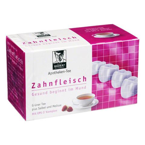 BADERS Apotheken Tee Zahnfleisch Filterbeutel 20 Stück