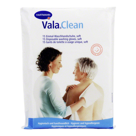 ValaClean soft Einmal-Waschhandschuhe 15 Stück