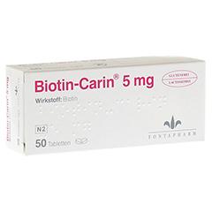 Biotin-Carin 5mg 50 Stück