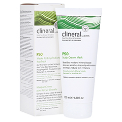 CLINERAL PSO Cream Scalp Mask 200 Milliliter