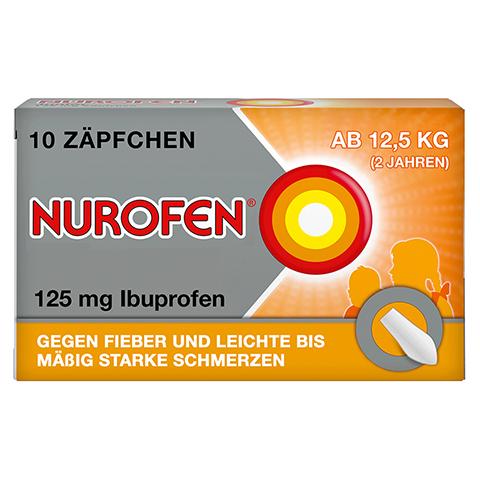 Nurofen Junior 125mg 10 Stück N1